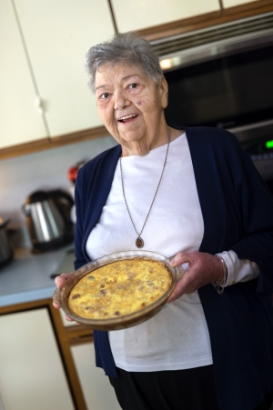 Rosemary Brand With Quiche